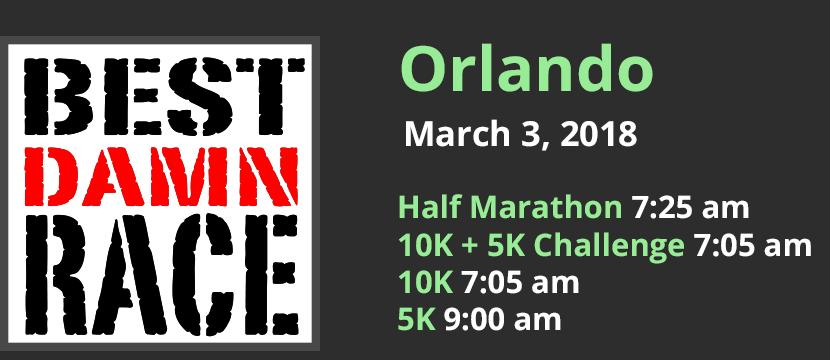 Best Damn Race - Orlando, FL