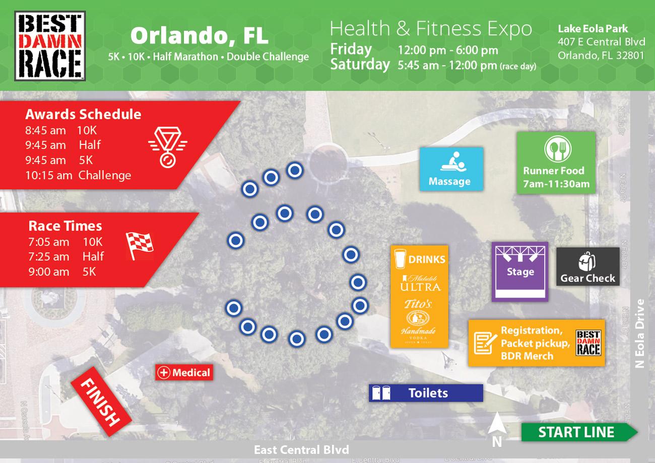Orlando, FL - Health & Fitness Expo - Best Damn Race