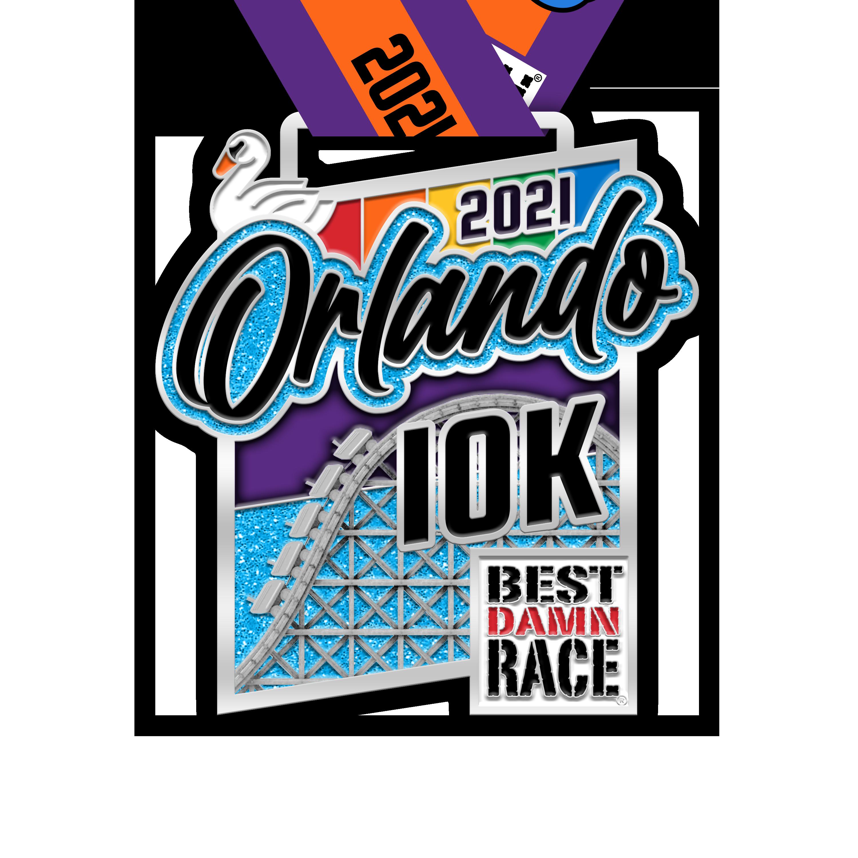 10K Orlando Medal