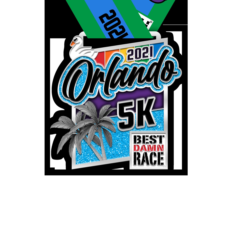 5K Orlando Medal