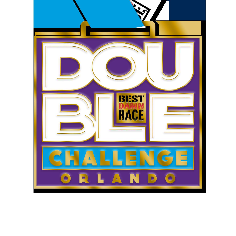 2020 5K+10K Challenge Medal - Orlando